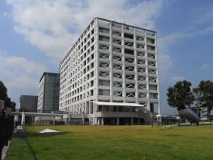 富士市庁舎耐震補強主体工事
